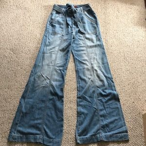 7 for all Mankind wide leg flares